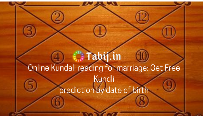 Online Kundali reading for marriage_ Get Free Kundli prediction by date of birth