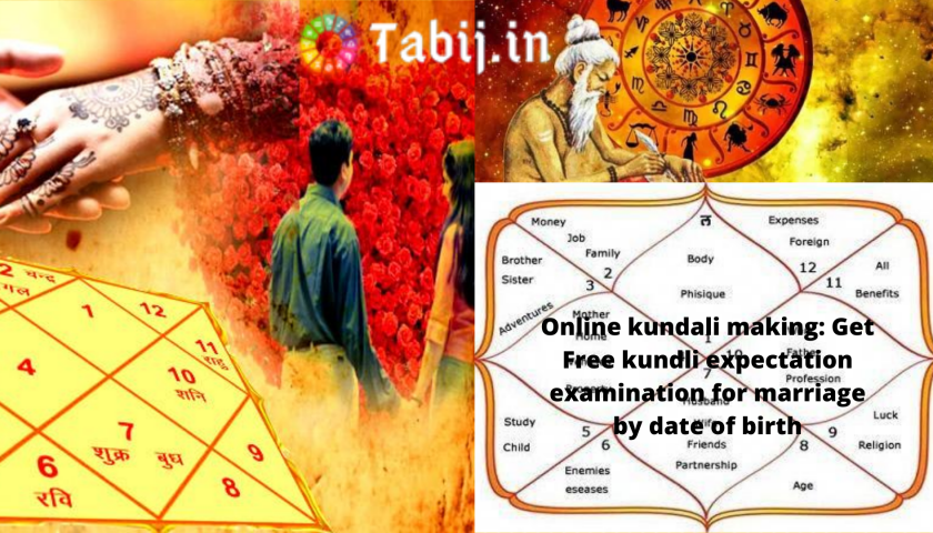 Online kundali making_ Get Free kundli expectation examination for marriage by date of birth