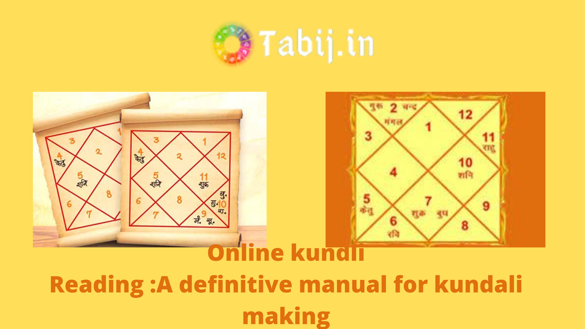 Online kundli Reading _A definitive manual for kundali making
