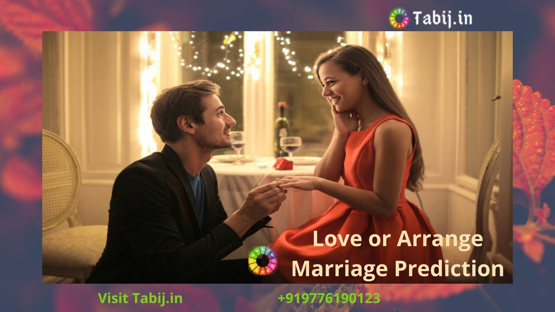 Love or arrange Marriage prediction by date of birth
