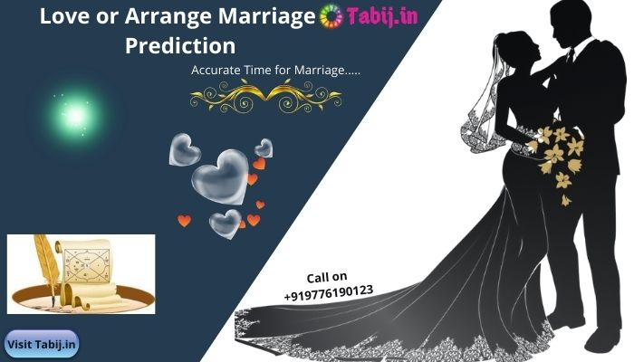 Love or arrange marriage prediction