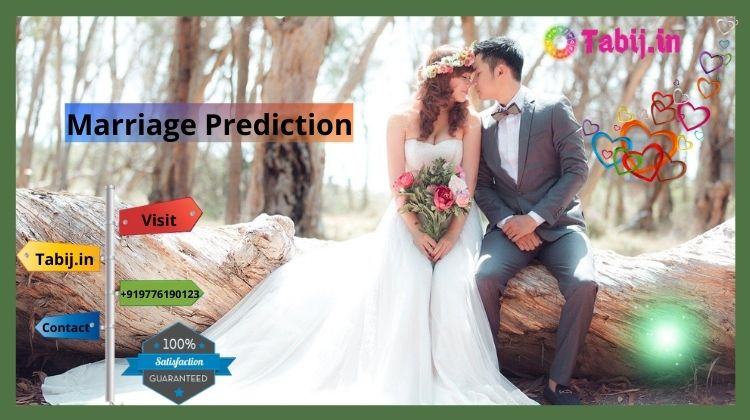 Marriage Prediction