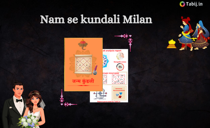 Nam se kundali Milan: Free kundali Milan in Hindi