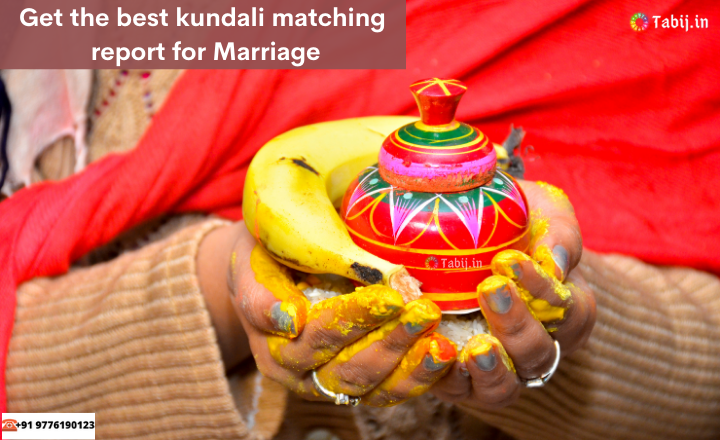 Get the best kundali matching report for Marriage