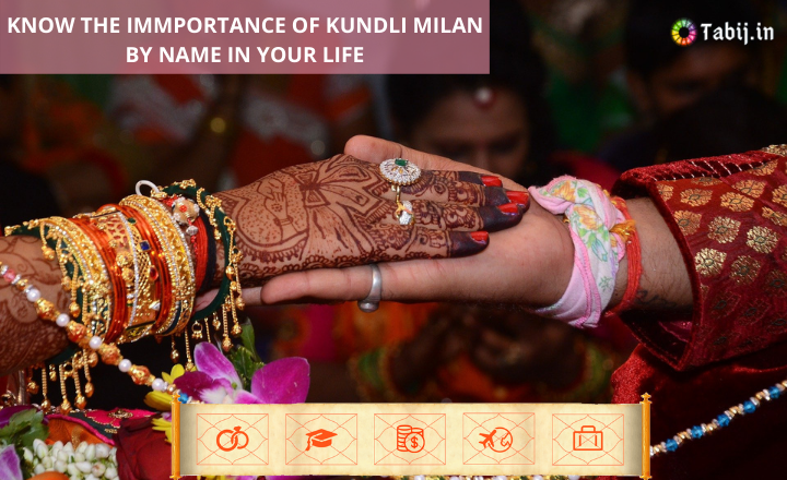 KNOW THE IMMPORTANCE OF KUNDLI MILAN BY NAME IN YOUR LIFE